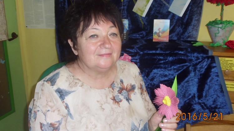 Barbara Mietlińska w Dziwnówku.