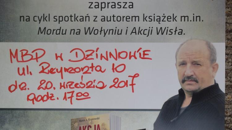 Marek A. KOPROWSKI w Dziwnowie 20 września 2017r.