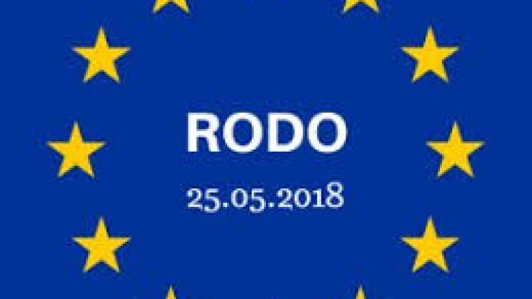 RODO – 25.05.2018 R.