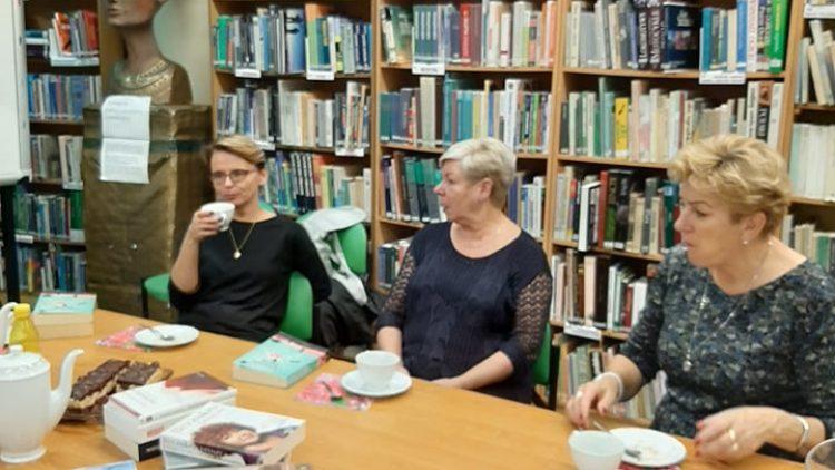 """DKK Horus –  28.10.2019 i """"Strażniczka książek"""" Glaser Mechthild."""
