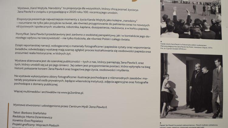 """Serdecznie zapraszamy na Wystawę"""" # narodziny Karol Wojtyła""""."""