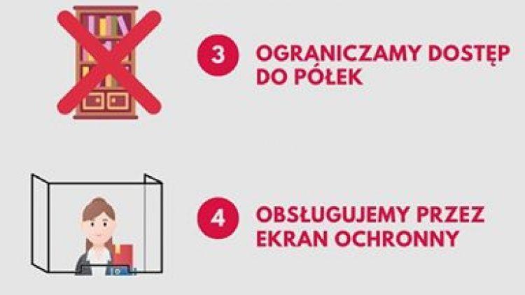 Drodzy Czytelnicy i Użytkownicy Miejskiej Biblioteki publicznej w Dziwnowie – informujemy, ze nasze placówki będą dostępne dla Państwa  od 11 maja 2020 r. od poniedziałku do piątku  w godzinach od 9.00 do 16.00.