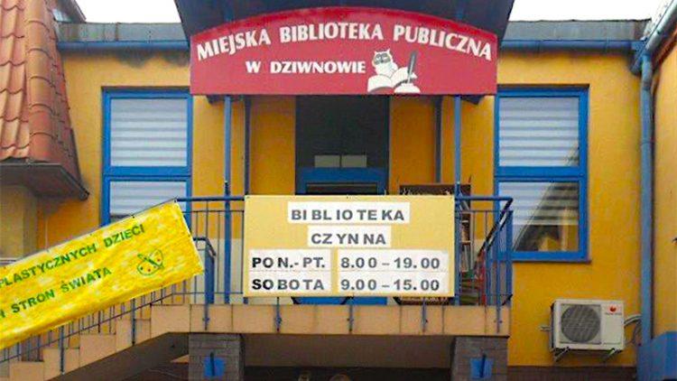 Praca MBP w Dziwnowie od 07.11.2020 r.- w okresie pandemii.