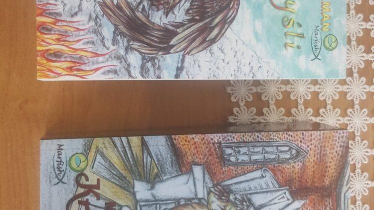 """Proszę PAŃSTWA – już jest do wzięcia dwutomowa powieść fantasy """"KRÓL MYSLI"""" – Marka Malmana,"""