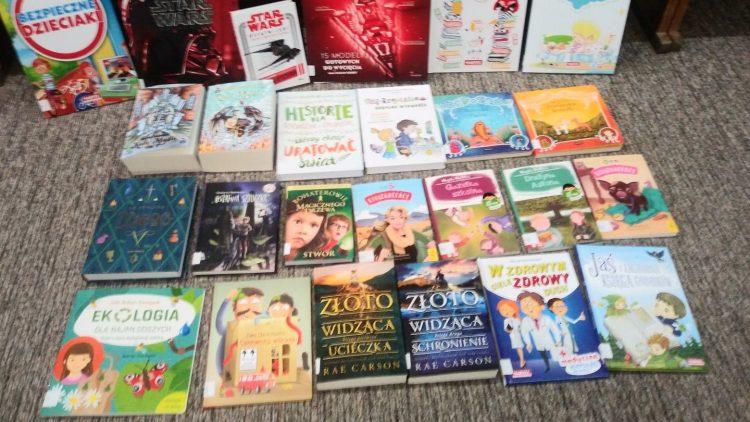 Kochani – kolejna lista książek zakupionych w miesiącu marcu do Oddziału dla dzieci i młodzieży: